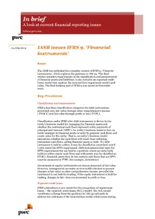 PwC HK: IFRS 9: Financial instruments