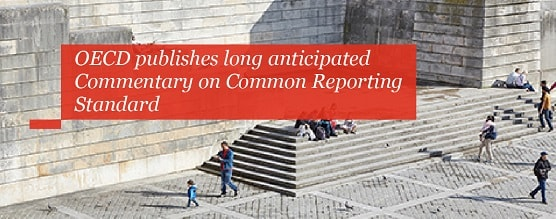 OECD publishes long anticipated Commentary on Common Reporting Standard